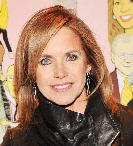 Katie Couric Medium Layered Cut