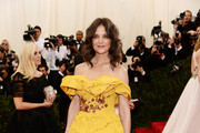 Katie Holmes Off-the-Shoulder Dress