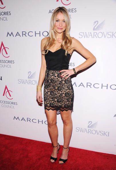 Katrina Bowden Strapless Dress