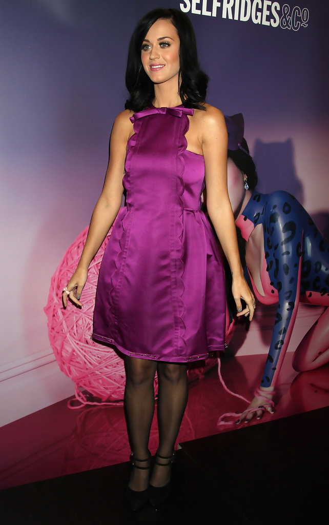Katy Perry Cocktail Dress - Katy Perry Clothes Looks ...