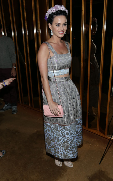 Katy Perry Long Skirt [pre-met ball special screening of ``the great gatsby,the great gatsby,the standard,clothing,dress,fashion,shoulder,fashion design,leg,textile,haute couture,event,formal wear,katy perry,screening,pre-met ball,new york city,the top,party]