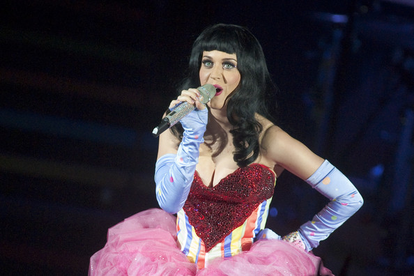 Katy+Perry in Katy Perry Performs Live At HMV Hammersmith Apollo