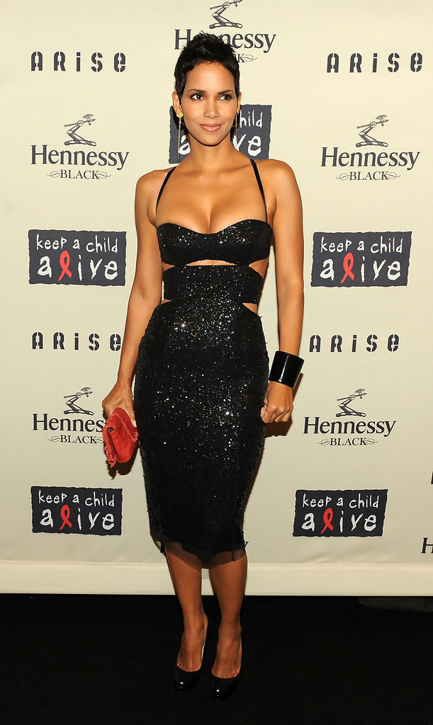Actress Halle Berry attends Keep A Child Alive?s 6th Annual Black Ball at Hammerstein Ballroom on October 15, 2009 in New York City.