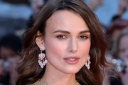 Keira Knightley Diamond Chandelier Earrings