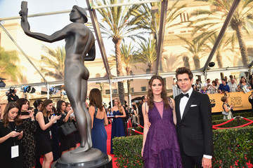 Keira Knightley James Righton 21st Annual Screen Actors Guild Awards - Red Carpet