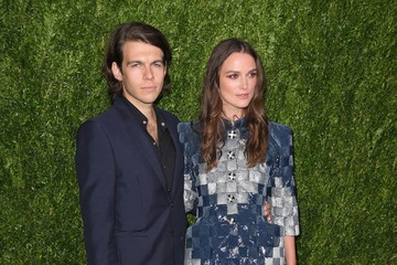 Keira Knightley James Righton CHANEL Fine Jewelry Dinner in Honor of Keira Knightley at the Jewel Box, Bergdorf Goodman - Arrivals