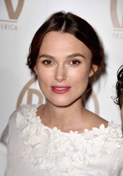 Keira Knightley Long Braided Hairstyle