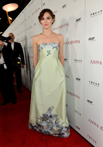"Premiere Of Focus Features' ""Anna Karenina"" - Red Carpet"