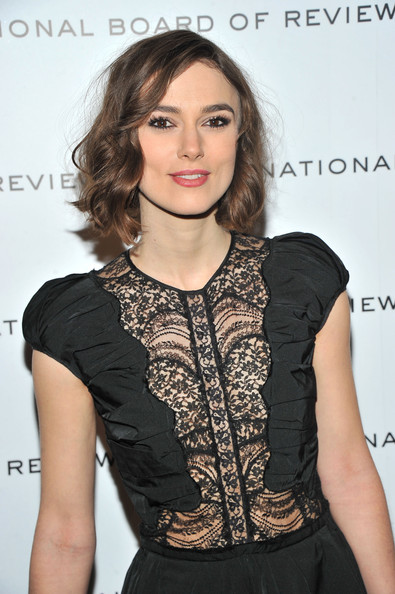 Keira knightley attends the 2011 national board of review awards gala