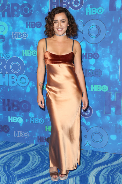 Keisha Castle-Hughes Evening Dress