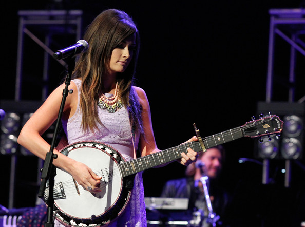 More Pics of Kacey Musgraves Layered Beaded Necklace (3 of 21) - Kacey Musgraves Lookbook - StyleBistro []