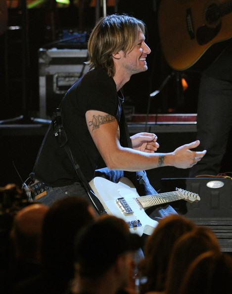 Keith Urban Lettering Tattoo