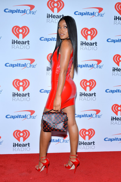 Keke Palmer Printed Purse