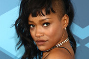 Keke Palmer Medium Wavy Cut with Bangs