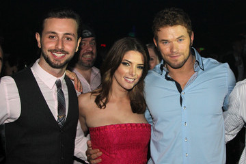 Kellan Lutz Ashley Greene Inside Global Green USA's 11th Annual Pre-Oscar Party
