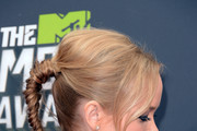 Kelley Jakle Long Braided Hairstyle