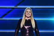 Kelly Clarkson Sequin Dress