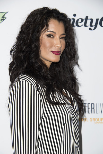 Kelly Hu Long Curls