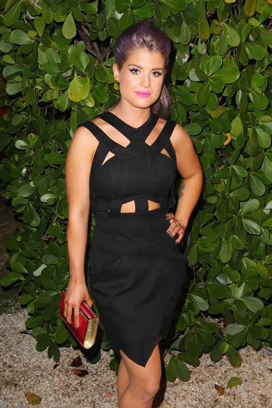 Kelly Osbourne Cutout Dress