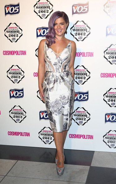 Kelly Osbourne Print Dress