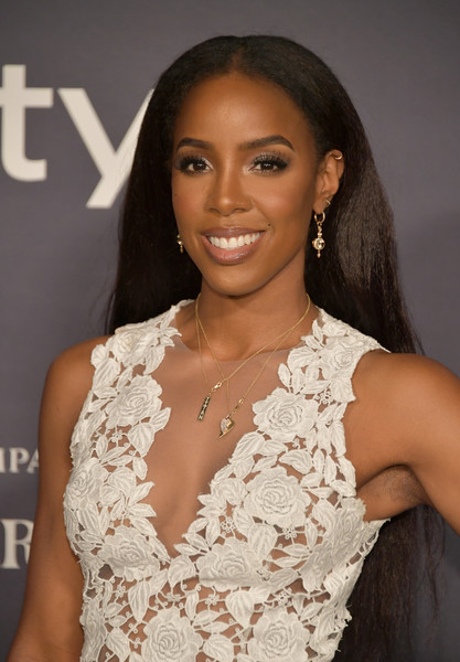 Kelly Rowland Long Straight Cut [hair,hairstyle,beauty,eyebrow,long hair,lip,black hair,premiere,ringlet,brown hair,arrivals,kelly rowland,the getty center,los angeles,california,3rd annual instyle awards]