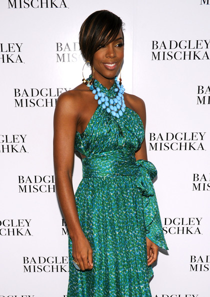 Kelly Rowland Turquoise Necklace