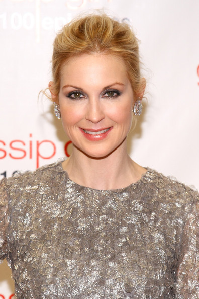 Kelly Rutherford Metallic Eyeshadow
