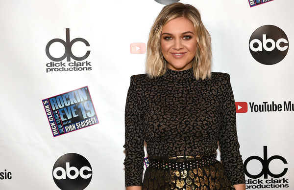 Kelsea Ballerini Studded Belt [dick clarks new years rockin eve with ryan seacrest,arrivals,kelsea ballerini,clothing,beauty,fashion,dress,premiere,little black dress,neck,long hair,style,carpet,la,california,party]