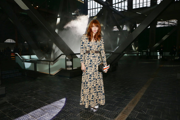 More Pics of Florence Welch Studded Belt (1 of 15) - Studded Belt Lookbook - StyleBistro
