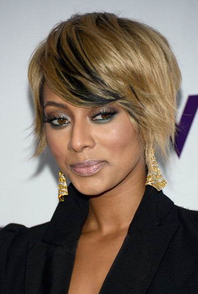 keri hilson short hairstyles front and back short