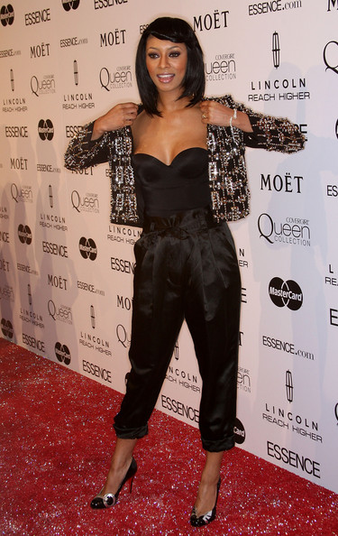 Keri Hilson High-Waisted Pants