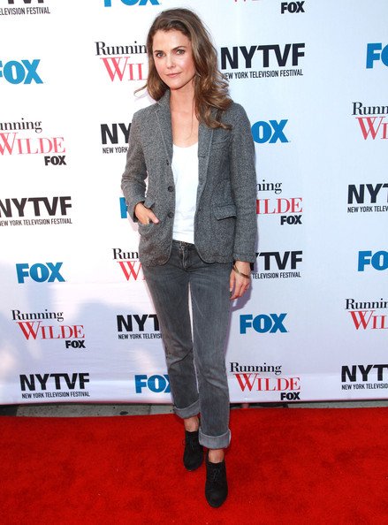 Keri Russell Classic Jeans