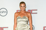 Kerri Walsh Jennings Strapless Dress