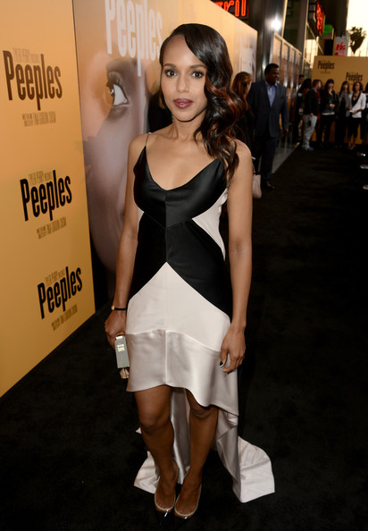 Kerry Washington Fishtail Dress