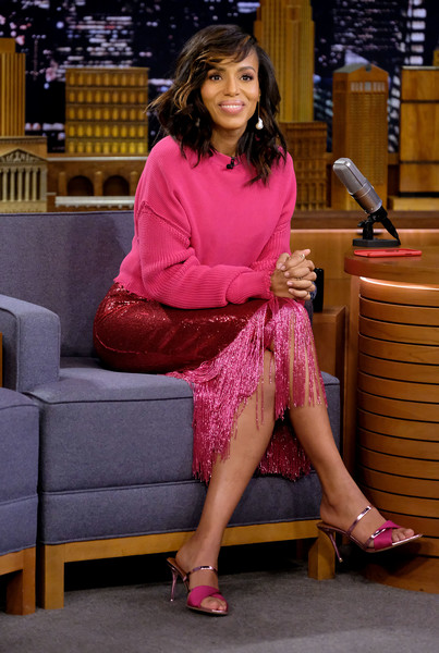 More Pics of Kerry Washington Evening Sandals (1 of 2) - Kerry Washington Lookbook - StyleBistro