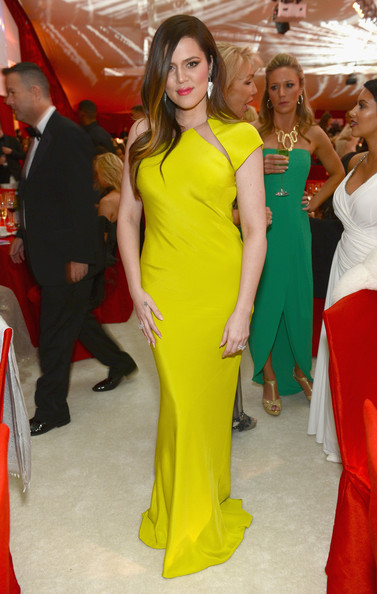 Khloe Kardashian Evening Dress