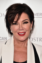 Kris Jenner looked hip with her slightly messy short 'do at the Good American launch.