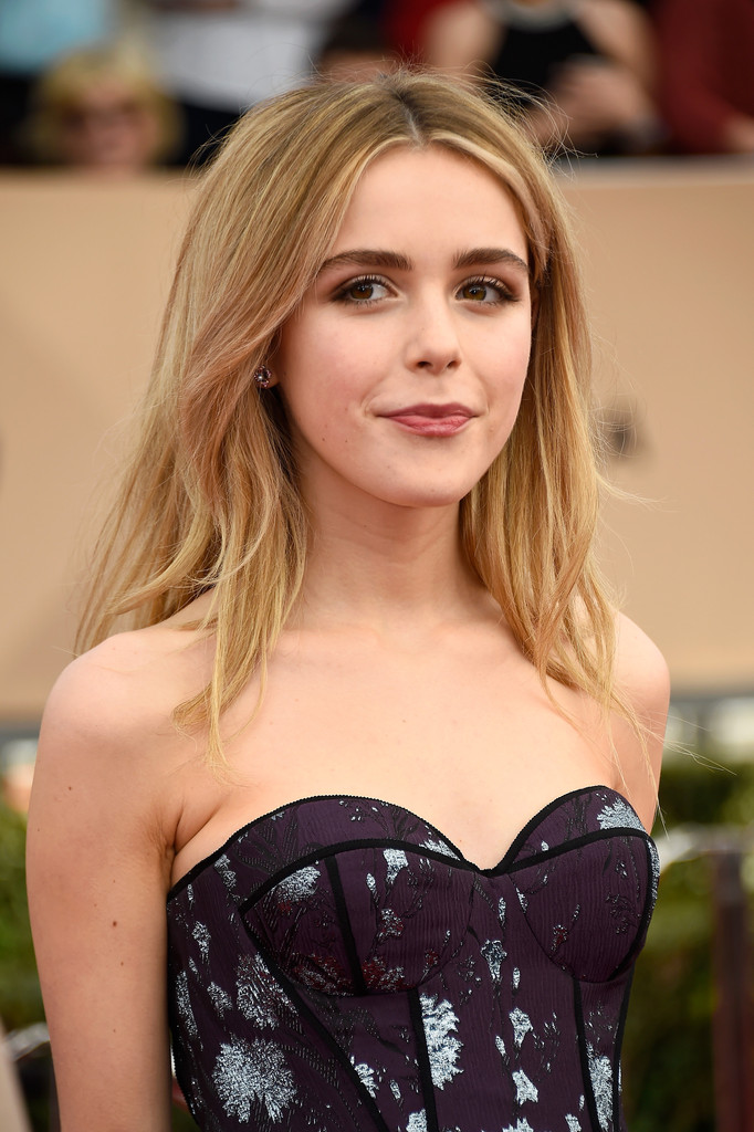 Kiernan Shipka Long Center Part Kiernan Shipka Looks