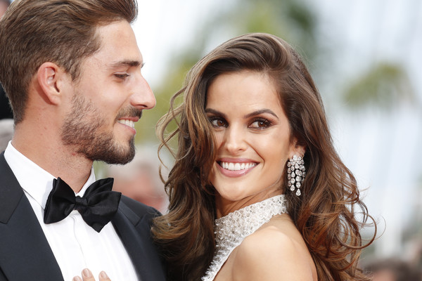 More Pics of Izabel Goulart Long Wavy Cut (3 of 79) - Izabel Goulart Lookbook - StyleBistro [the killing of a sacred deer,hair,facial expression,facial hair,hairstyle,beard,smile,formal wear,skin,suit,forehead,izabel goulart,kevin trapp,cannes,france,red carpet arrivals,cannes film festival,premiere,palais des festivals]