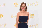 Kim Dickens Strapless Dress