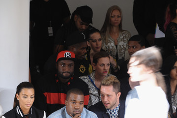 Kim Kardashian Chris Benz Louise Goldin - Front Row - Spring 2013 Mercedes-Benz Fashion Week