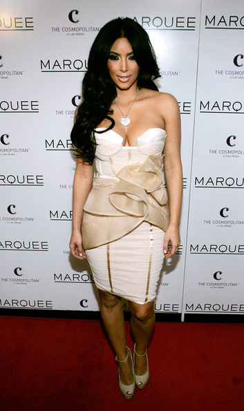 Kim Kardashian Corset Dress