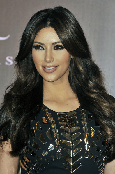 Kim+Kardashian in Kim Kardashian Launches Her Fragrance