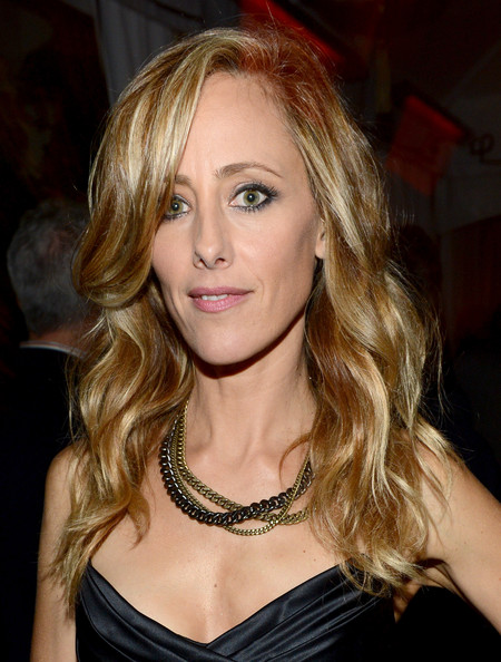 Kim Raver Layered Chainlink Necklaces