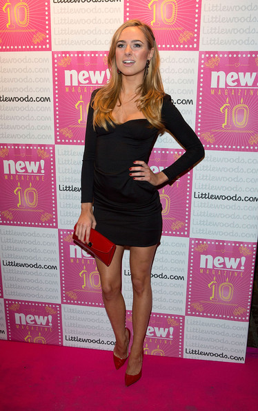 Kimberley Garner Little Black Dress