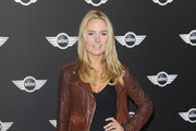 Kimberley Garner Leather Jacket