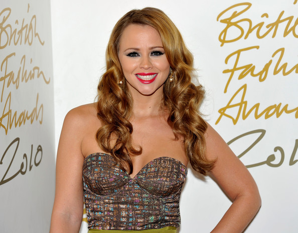 Kimberley Walsh Long Curls