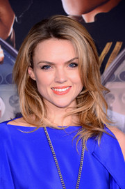 Erin Richards was fabulously coiffed with high-volume, feathery waves at the 'Kingsman: The Secret Service' premiere.