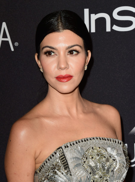 Kourtney Kardashian Red Lipstick