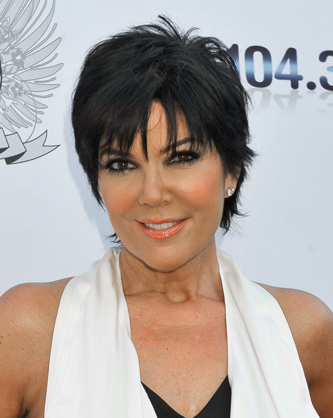 Kris Jenner arrives at the Aces & Angels Celebrity Poker Party at The